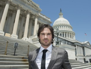 The Wildlife Conservation Society applauds American actor Ian Somerhalder for his testimony before a Congressional subcommittee at today's Federal Hearing...