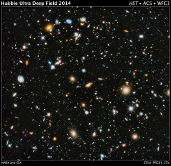 Astronomers using the Hubble Space Telescope have assembled a comprehensive picture of the evolving universe -- among the most colorful deep space images...