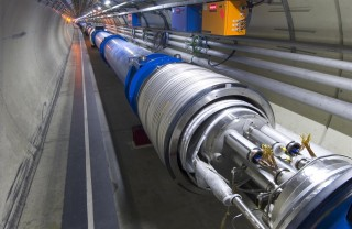 A method to correct tiny defects in the LHC's superconducting magnets (example shown above) was crucial to the discovery of the Higgs boson, which was announced...