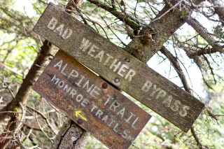 Hikers on Vermont's famed Camel's Hump Mountain might be able to take a bad weather bypass as more intense storms become the norm in a climate-changed...