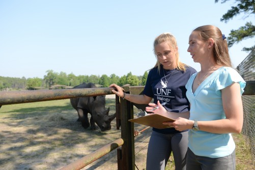 Newswise: UNF Partners with Reproduction Non-Profit to Breed Rare, Endangered Species at Zoos Around the Country