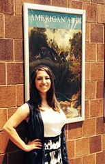 "Teresa Cardona was introduced to ""Writing and the Visual Arts"" as a freshman. The senior now volunteers at the museum and seeks to pursue a career..."
