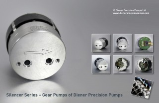 Silencer Gear Pump Series: simple, quiet, leak-free, chemically inert, reliable, compact, economical