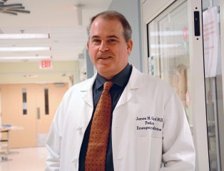James Gerard, M.D., is a professor of pediatrics at Saint Louis University and the principal investigator of this project.