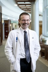 Dr. Michael Deininger, of the University of Utah and the Huntsman Cancer Institute, is co-senior author of the study.