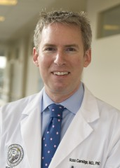 Ross Camidge, MD, PhD, director of the thoracic oncology clinical program at the CU Cancer Center is principal investigator of clinical trial testing ponatinib...