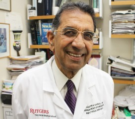 Rutgers infectious disease physician Rajendra Kapila says it will be extremely complicated both to evaluate and to manufacture an experimental Ebola drug.