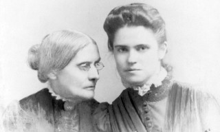 Susan B. Anthony and Rachel Foster Avery
