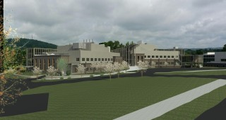 Rendering of Binghamton University's new Smart Energy Facility which is scheduled for completion in 2017