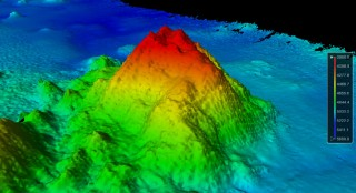 University of New Hampshire scientists on a seafloor mapping mission have discovered a new seamount near the Johnson Atoll in the Pacific Ocean. The summit...
