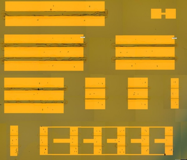 Optical images of individual SWCNT field-effect transistors