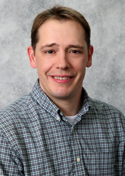Assistant professor Chris Saunders of the South Dakota State University Mathematics and Statistics Department