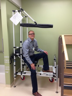 Newswise: 'Therapy Car' Invented at Virginia Mason Helps Orthopedic Patients Avoid Falls