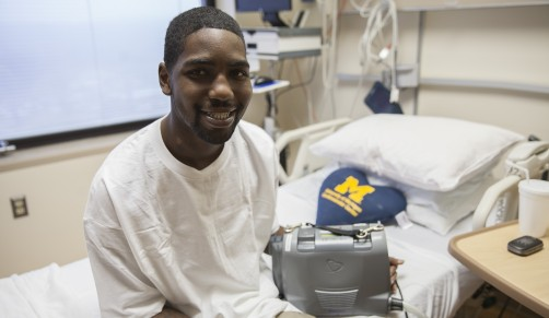 Newswise: Using Wearable Technology, Man Leaves Hospital Without a Human Heart