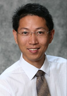 Associate professor Qiquan Qiao of South Dakota State University is working on improving the efficiency of organic solar cells  in his lab at the Center for Advanced Photovoltaics.