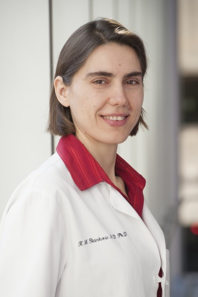 Konstantina M. Stankovic, M.D., Ph.D., FACS, researcher in the Eaton-Peabody Laboratories at Mass. Eye and Ear