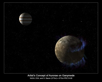 Newswise: Hubble Observations Suggest Underground Ocean on Jupiter's Largest Moon