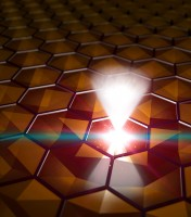 Electrons Move Like Light in Three-Dimensional Solid