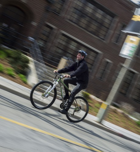 Newswise: As Urban Cyclists Multiply, He Explains Why