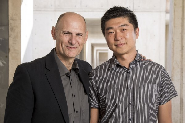 Salk researchers Juan Carlos Izpisua Belmonte and Jun Wu.