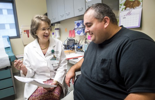 Newswise: UAB Dermatologists' Drive to Eliminate Psoriasis Is Personal