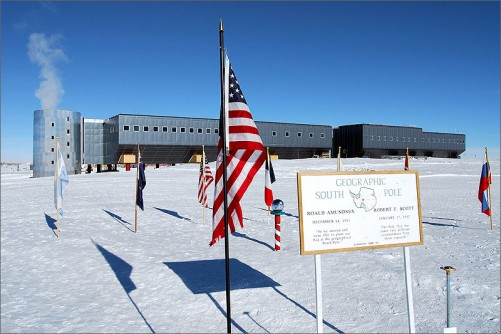 NREL researchers are experimenting with adding wind and photovoltaic solar energy systems at the Amundsen-Scott Research Station at the South Pole. The new station originally was supposed to include renewable energy systems, but contruction delays and other factors cut them from the project.