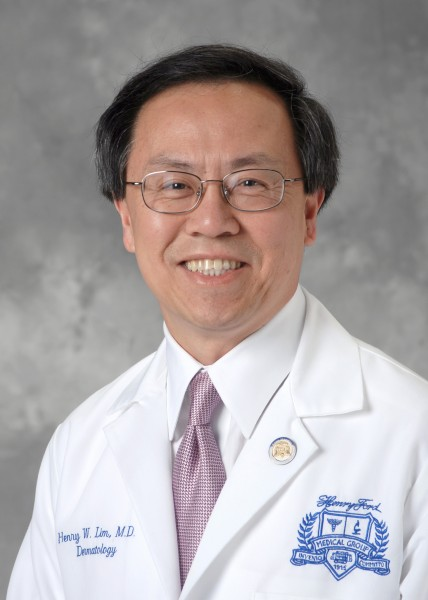 Henry Lim, M.D., chair of the Department of Dermatology at Henry Ford Hospital in Detroit.