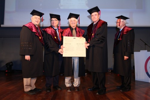 Newswise: Prof. Robert Alter Receives Honorary Doctorate From the University of Haifa