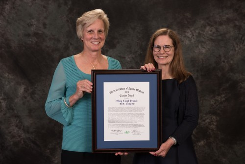 Newswise: Mary Lloyd Ireland Receives ACSM Citation Award
