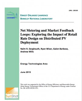 Newswise: Berkeley Lab Study Finds that Future Deployment of Distributed Solar Hinges on Electricity Rate Design