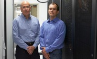 Prof. Juan de Pablo (left) and Ivan Lyubimov, postdoctoral research associate in <a href='/news/tags/Molecular'>molecular</a> <a href='/news/tags/Engineering'>engineering</a>, were co-authors on a study describing the unexpected...