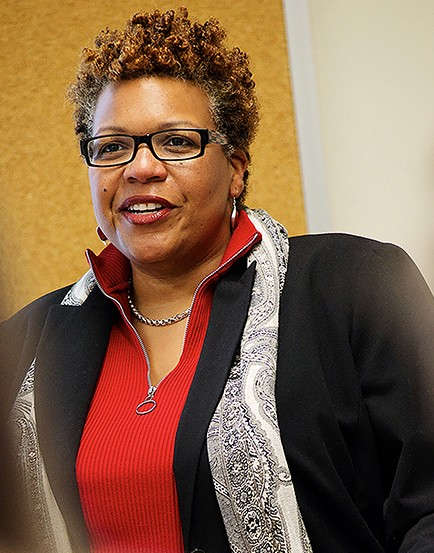 Tanya Sharpe, PhD, MSW, co-investigator and associate professor at the University of Maryland School of Social Work. - University of Maryland, Baltimore