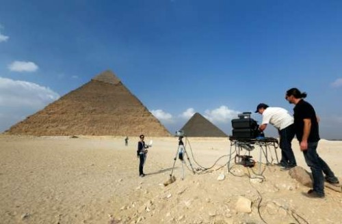 Newswise: Thermal Scans Reveal Anomalies in Egyptian Pyramids of Giza