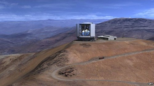 Newswise: Construction of the Giant Magellan Telescope Begins