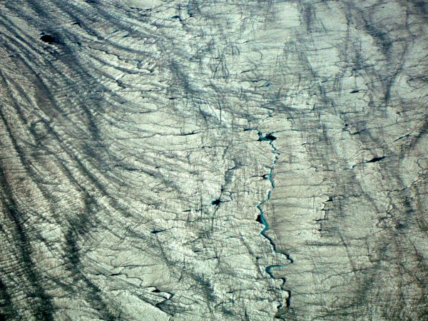 The surface of the Greenland Ice Sheet