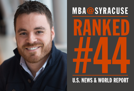 Newswise: U.S. News & World Report Gives Top 50 Ranking to Whitman's Online MBA Program