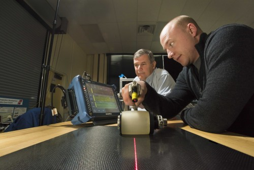 Newswise: Nondestructive Testing: Sandia Looks Inside Composites