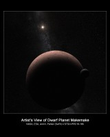 Newswise: Hubble Discovers Moon Orbiting the Dwarf Planet Makemake