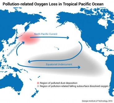 Newswise: Polluted Dust Can Impact Ocean Life Thousands of Miles Away, Study Says