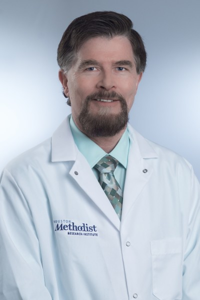 John Cooke, M.D., Ph.D., chair, Department of Cardiovascular Sciences, Houston Methodist Research Institute