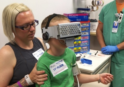 Newswise: Virtual Reality Games Make Infusions Easier on Young Patients