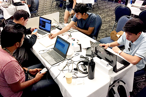 Newswise: Students Create Innovative Prototypes at Cal State LA Biohack