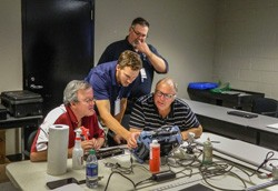 Newswise: Aircraft Inspectors Have New Sandia Course to Help Detect Composite Material Damage