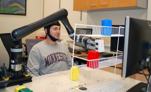 Newswise: University of Minnesota Research Shows That People Can Control a Robotic Arm with Only Their Minds