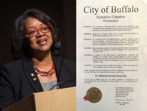 Newswise: Mayor of Buffalo Honors President Conway-Turner at MLK Scholarship Breakfast