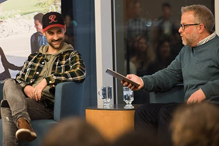 Newswise: Hip-Hop Artist Ryan Lewis Surprises, Delights Gonzaga Students in Conversation on Leadership in Arts
