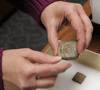 Newswise: Tablets 1.0: Ancient Cuneiform Pieces Find Home in Creighton's Law Library