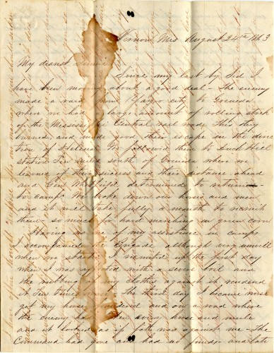 Newswise: Love and War: Digitized Letters Preserve the Tale of a Texas Girl, Her Confederate Sweetheart and Their Secret Engagement