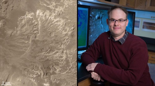 Newswise: Geneseo Planetary Geologist Involved in Determining Next Mars Rover Landing Site