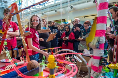 Newswise: Lake Park High School Wins Argonne's 2017 Rube Goldberg Machine Challenge